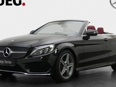 used Mercedes C220 d AMG Cabrio Comand Leder LED-HP
