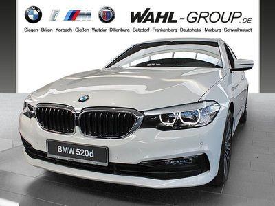 gebraucht BMW 520 d Limousine Sport Line HiFi WLAN Navi Prof.