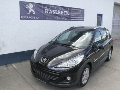 gebraucht Peugeot 207 Outdoor SW HDi FAP 110; Panorama, Teilleder,
