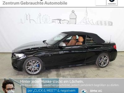 gebraucht BMW M2 40i Cabrio M Sportpaket HiFi Var. Lenkung LED