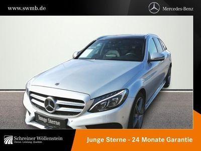 gebraucht Mercedes C400 T 4M *AMG*Comand*Pano.-Dach*LED*Kamera*PDC