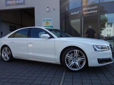 """gebraucht Audi A8 4.2 TDI Q EU6 AHK/STDHZG MATRIX/LED/21""""ALU/SD"""