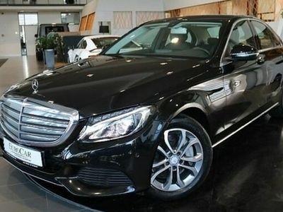 gebraucht Mercedes C350e Exklusive Navi LED Leder Sitzbel Kam AHK