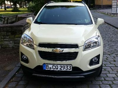 gebraucht 1 7td automatik lt taxi mit taxi folie beklebt chevrolet trax 2013 km in. Black Bedroom Furniture Sets. Home Design Ideas