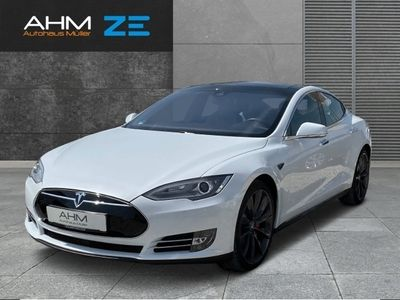 gebraucht Tesla Model S P85D *AP1 *Winter & Premium-P. VOLL!!!