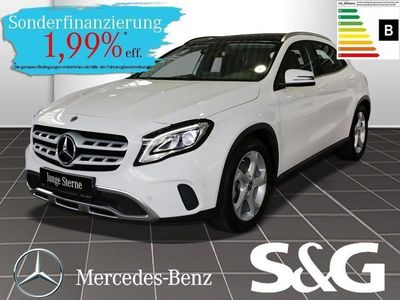 gebraucht Mercedes GLA200 Urban Garmin/Schiebedach/LED/Keyless-Go