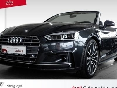 gebraucht Audi A5 Cabriolet 2.0 TDI S-tronic sport S-line Leder Navi