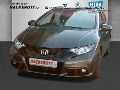 gebraucht Honda Civic Tourer Sport 1.6 i-DTEC AD Rückfahrkam. LED-Tagfahrlicht Tel.-Vorb. Multif.Lenkrad