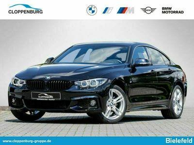 gebraucht BMW 420 i xDrive M Sport LED Navi SHZ PDC v+h