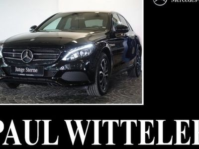 gebraucht Mercedes C180 Avantgarde Night/Klima/Navi/LED/Sitzhzg./ R-CD