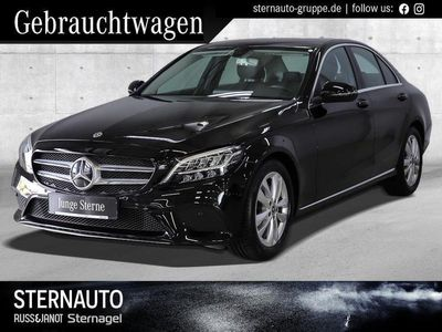 gebraucht Mercedes C220 d Avantgarde Kamera Distronic LED Navi