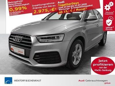 gebraucht Audi Q3 2.0 TDI sport LED Navi AHK DAB APS+