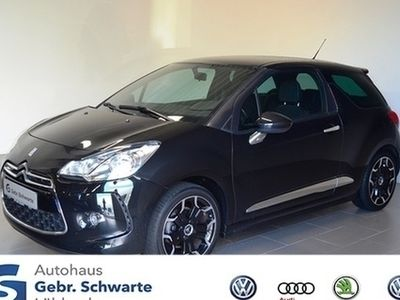 gebraucht Citroën DS3 1.6 THP 155 SportChic AHK Klimaautomatik