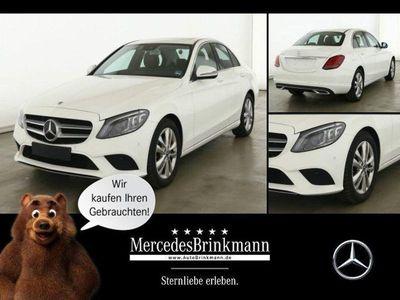 gebraucht Mercedes C220 d AVANTGARDE/MULTIBEAM/NAVI/SHD/KAMERA SHZ