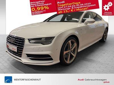 gebraucht Audi A7 Sportback 3.0 V6 TDI quattro S-line MMI Navi+ Bose Lane 20 Zoll