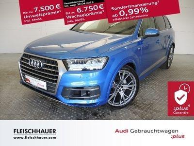 gebraucht Audi Q7 50 3.0 TDI quattro EU6d-Temp ACC NAVI