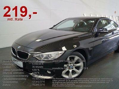 gebraucht BMW 420 i Coupe *NAVI.LEDER.18LM.PDC*