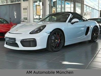 gebraucht Porsche Boxster Spyder PCM Vollleder 1.Hand Deutsches Fz