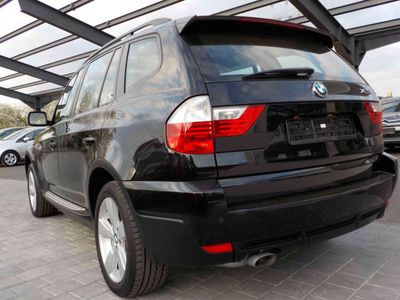 gebraucht BMW X3 2.0d LEDER NAVI XENON PDC Scheckheft PERFEKT