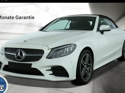 gebraucht Mercedes C200 CABRIO AMG-LINE NAVI MULTIBEAM KAMERA