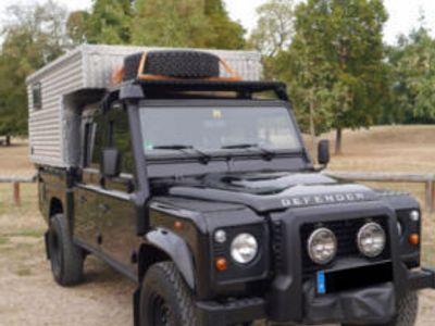 verkauft land rover defender 130 exkab gebraucht 2014. Black Bedroom Furniture Sets. Home Design Ideas