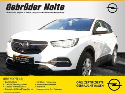 gebraucht Opel Grandland X 1.2 Turbo Edition SHZ KAMERA NAVI