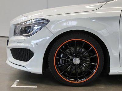 gebraucht Mercedes CLA250 Shooting Brake Orange Art*AMG*Panorama++