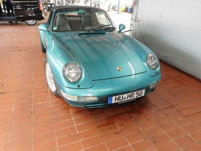 gebraucht Porsche 993 993 / C4 Cab Dt.Auto*RS Bremse*H&R Fahrw