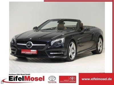 gebraucht Mercedes SL500 AMG Sport-Paket Panorama scheckheftgepfl