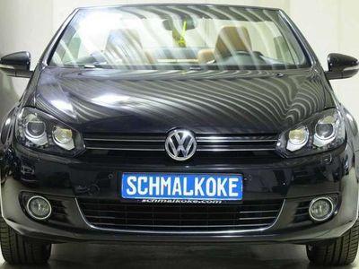 gebraucht VW Golf Cabriolet Golf Cabriolet VI 1.6 TDI BMT Leder Xenon Navi