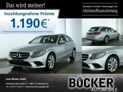 gebraucht Mercedes C220 T d Avantgarde Multibeam LED AHK el.Klappe