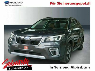 gebraucht Subaru Forester 2.0ie e-BOXER Platinum Leder Braun 2021