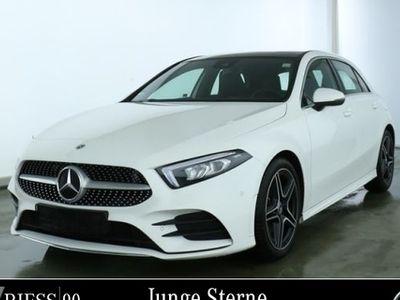 gebraucht Mercedes A180 d AMG Sport Prem Navi MBUX LED Pano Umwelt