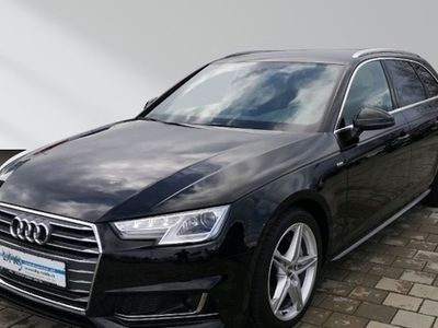 gebraucht Audi A4 Avant S line 3.0 TDI s-tronic ACC virtual Navi Xenon Sitzheizun