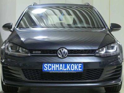 gebraucht VW Golf VII Variant GTD TDI2.0 BMT DSG Xenon Navi