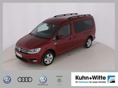 gebraucht VW Caddy Maxi Comfortline 7-Sitzer Motor: 1,4 l TSI EU6 BlueMotion Technology 92 kW Getriebe: 7-Gang-Do