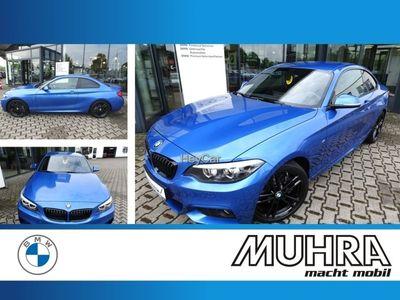 gebraucht BMW 220 d Coupe M Sport Prof HiFi