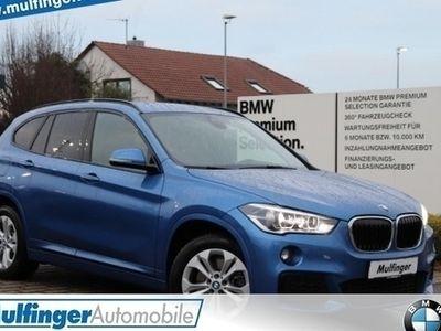gebraucht BMW X1 xDr.20d M Sport Leder Lenkradh.LED PDC AHK
