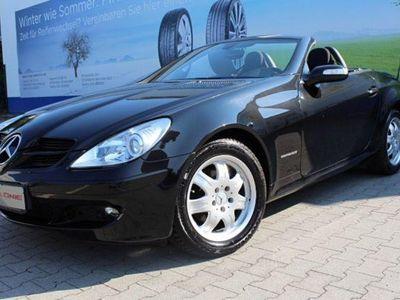 gebraucht Mercedes SLK200 200 RoadsterKompressor*2.Hand*Klima*Scheckh