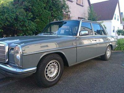 gebraucht Mercedes W114 /8 250 mit 280e Motor H-Zulassung