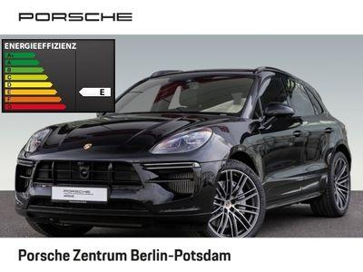 gebraucht Porsche Macan Turbo SportDesign Paket Burmester 21-Zoll