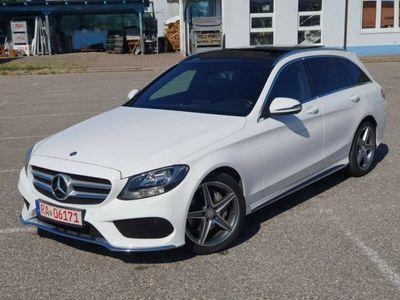 gebraucht Mercedes C220 T BlueTEC / d AMG Paket Panorama