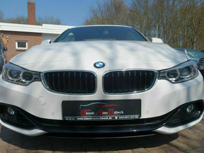 gebraucht BMW 435 4 Cabrio i Klima Navi Leder 1.Hand Scheckh.