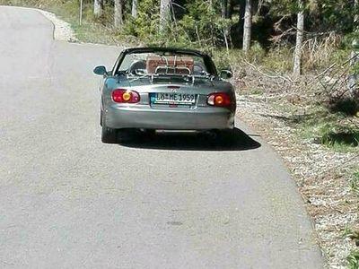 gebraucht Mazda MX5 silber - anthrazit