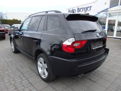 gebraucht BMW X3 3.0d Leder Automatik Navigation Xenon