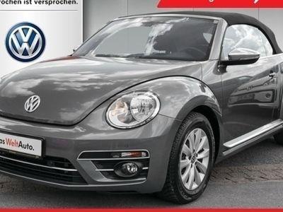 usado VW Beetle Cabrio Design 2.0 TDI Navi Tel. ParkPilot