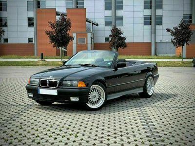 gebraucht BMW 320 Cabriolet i E36 R6 6 Zylinder Originallack! Schwarz II