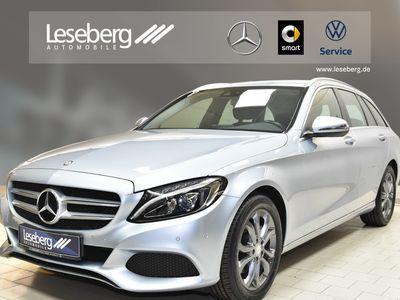 gebraucht Mercedes C220 d T Avantgarde/LED/Navigation/PTS/Sitzhzg.