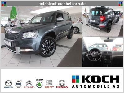 gebraucht Skoda Yeti Outdoor 2.0 TDI 4x4 DSG Adventure NAVI Top