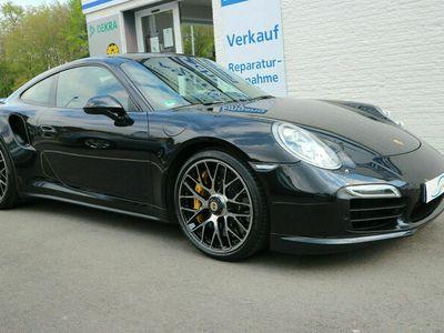 gebraucht Porsche 991 Turbo S Chrono Keramik Carbon Schiebed. PCM